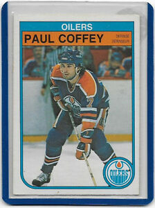 Paul Coffey 2nd. Year Card