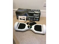 White Segway used once indoors excellent condition