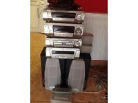 Technics stereo system sc-dv290 DVD/cd