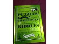 Book of riddles and puzzles