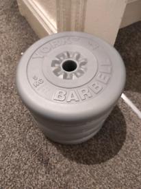 5kg York Weight Plates × 4 (20kg)