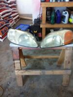 Honda civic head lights for years 1996 1997 and 1998 CHEAP!