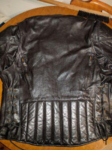 Real leather jacket Cornwall Ontario image 2