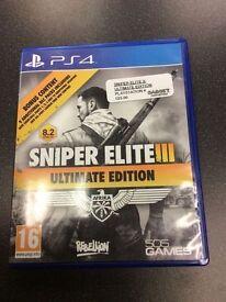 Sniper Elite 3 Playstation 4 Game Ultimate Edition