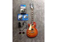 Westfield Les Paul Copy LH Guitar & Rocksmith PS4 Guitar Tutor