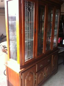 china cabinet - very good condition