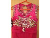 Elegent Pink Anarkali dress