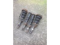 Mg Rover 25 zr suspension struts and springs parts breaking
