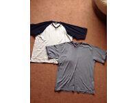 Mens BHS XL PJ tops / soft tshirts
