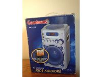Goodmans Kids Karaoke/CD Player with 2 Mikes