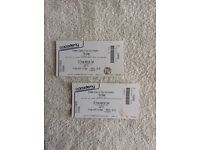 2 X standing tickets for The Enemy @ The Forum, Kentish Town, London 16th of September