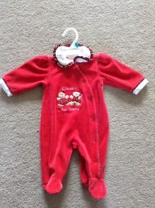 Christmas Sleeper, 3 months - $5