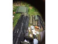 Job lot of carp gear