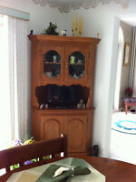 Beautiful Wooden Display Cabinet For Sale