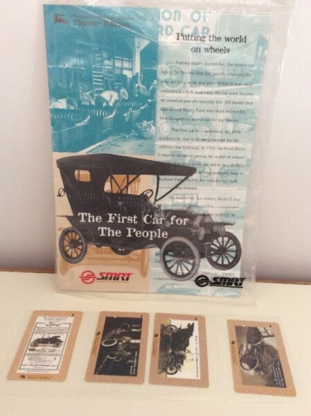 First car for the people series SMRT TransitLink cards