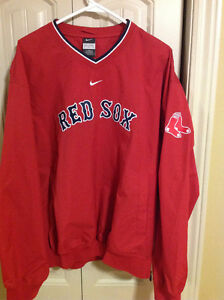 Nike Boston Red Sox Pullover Jacket Excellent Condition.