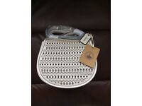 Clarks off white handbag
