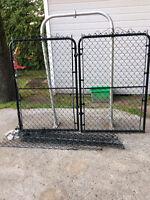 Porte clôturé frost 2