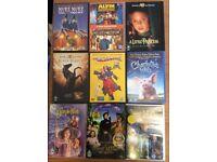 9 kids dvds £3.50!