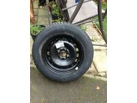 2013 Ford KA edge new Rim new Michelin energy tyre 175/65/14