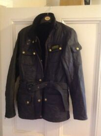 Barbour jacket size 12