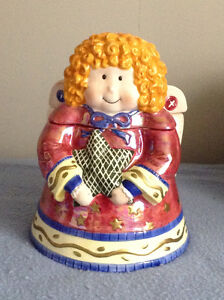 Angel Cookie Jar