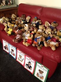 Over 50 gorgeous little special addition teddy bears, all in good clean condition.