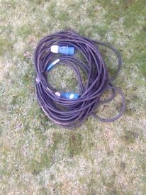25 metres extension cable 3 core Heavy Duty
