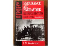 Endurance and Endeavour- Russian History 1812-1992- J.N Westwood