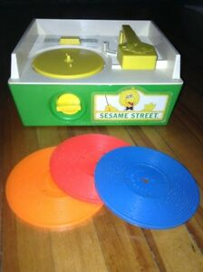 Fischer-Price Sesame Street Music Box Record Player