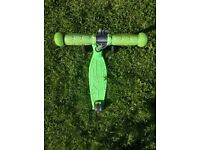 Green Maxi micro scooter