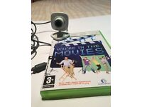Xbox 360 in the movies game with Xbox camera £5