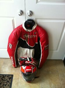 ducati a jacket leather