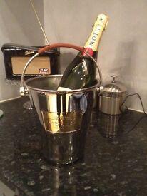 John Lewis Laurent p champagne bucket