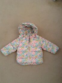 Girls winter coat 9-12 months - Good as new!