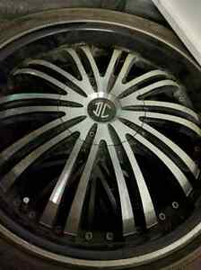 18 in. Universal  5 bolt patter aftermarket rims