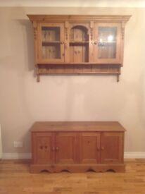 Solid pine 2 piece dresser