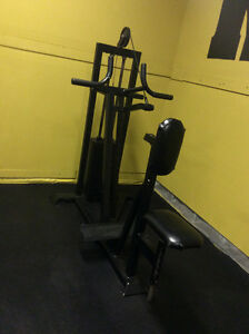 Seated Row Cable Machine