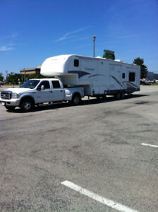 TRADE 5th wheel for motorhome