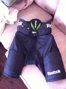 Bauer Player Skates and Reebok Player Pants