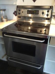 GE stove convection, self-cleaning