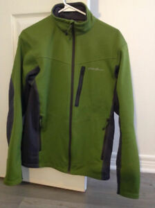 Eddie Bauer Fleece Jacket Climbing or Causual LS FZ
