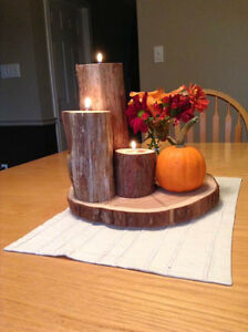 Log  Centre piece Kitchener / Waterloo Kitchener Area image 1