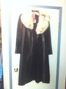3/4 Length Leather & Suede Coat Strathcona County Edmonton Area image 2