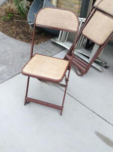 Card table and chairs for sale