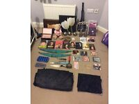 Car boot job lot of clothing and bric a brac