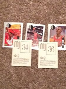 Michael Jordan collectible cards (box of unopened cards)