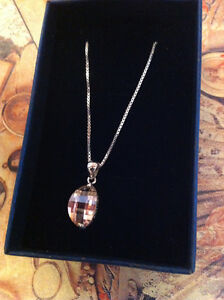 """Silver chain 18"""" With Pendant."""