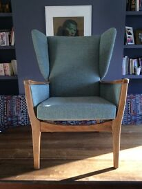 Parker Knoll 1965 'P Range' Wing Back Chair'