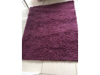Thick Warm Purple Rug